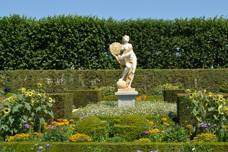 Royal Gardens at Herrenhausen are one of the most distinguished baroque formal gardens of Europe photo