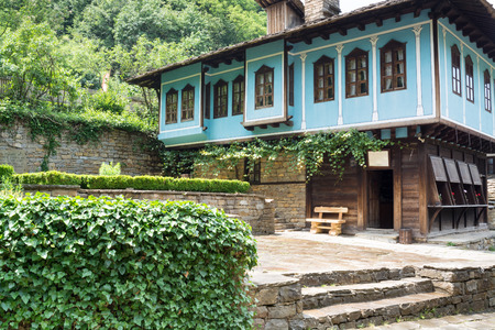 Architectural ethnographic complex  Etar  is the first one of this type in Bulgaria  It presents the Bulgarian customs, culture and craftsmanship from the period of Ottoman Empire  It was found in 1964 and it is situated 8 km South of Gabrovo  In AEK  Eta Editorial