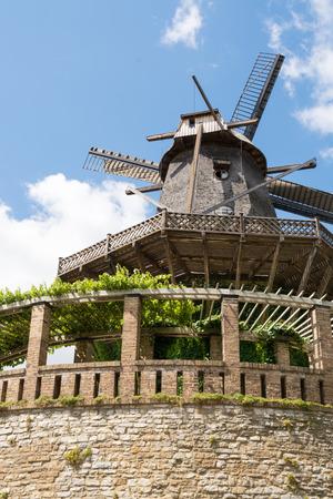 Old Windmill in Sanssouci Park, Potsdam, Germany, Europe Stock Photo - 27917503