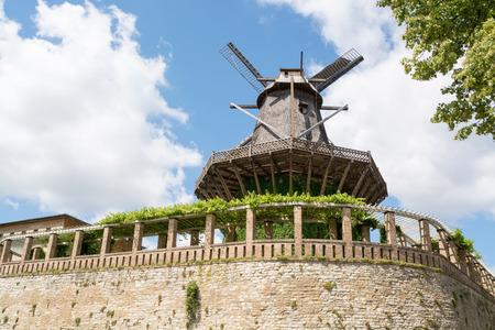 Old Windmill in Sanssouci Park, Potsdam, Germany, Europe Stock Photo - 27917544