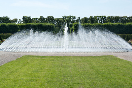 The Herrenhausen Gardens are located in Lower Saxony photo