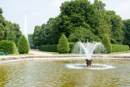 water feature: The Herrenhausen Gardens are located in Lower Saxony