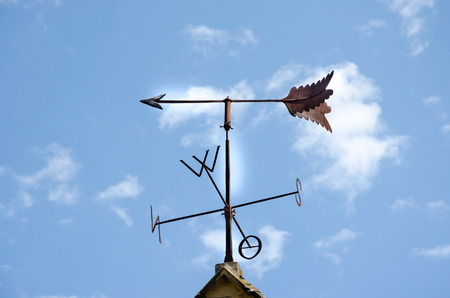 swivel: Old weathervane of Tubingen old town, Germany Stock Photo