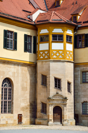 detailed view: Detailed view in the court of castle Hohentubingen, Germany