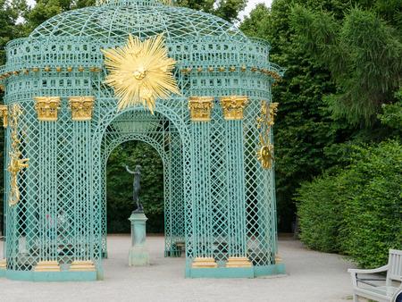 Royal pavilion in Schloss Sanssouci in Potsdam, Germany