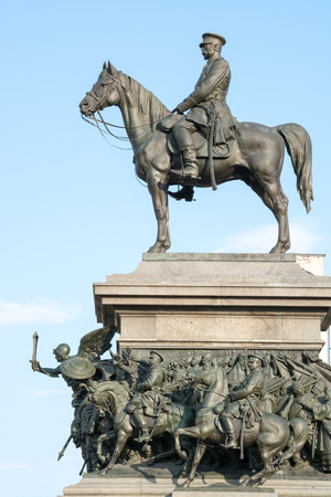 the liberator: The monument of King Liberator is one of the most impressive monuments in Sofia, erected in honor of the liberation of Bulgaria in 1878, in an expression of gratitude to the Bulgarian people to the Russian people in the face of Russian Emperor Alexander I Editorial