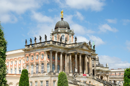 campus tour: The most representative part of the University of Potsdam campus, Germany