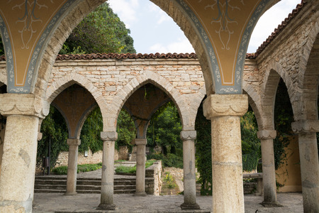 balchik: Roman bath in the yard of Balchik palace, Varna Province, Bulgaria