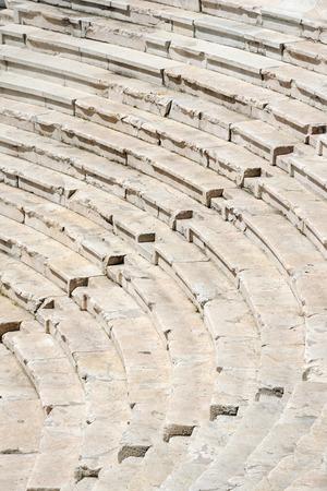 roman amphitheater: Fragment of the ancient roman amphitheater, Plovdiv, Bulgaria