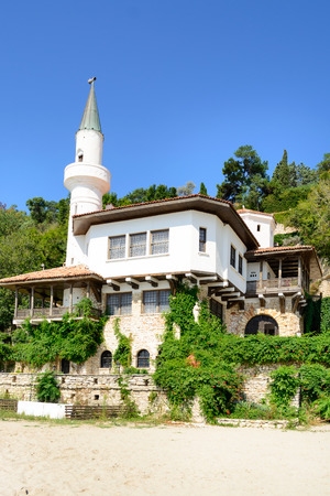 balchik: The Balchik Palace, Home Of Queen Marie of Romania During Romanian Occupation Editorial