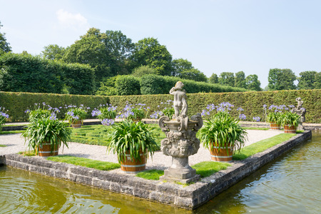 Herrenhausen Gardens in summer, Hannover, Lower Saxony, Germany, Europe Stock Photo
