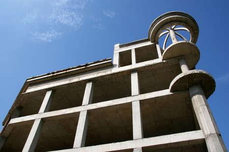 befejezetlen: Unfinished building