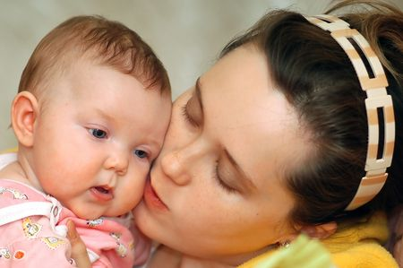 Mother and child Stock Photo - 809455