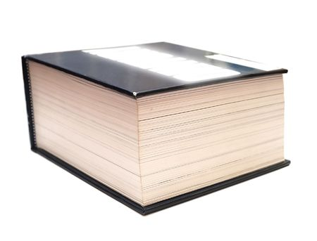close up of book isolated on white Stock Photo - 853157