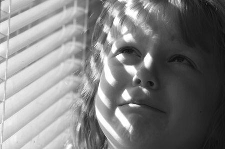 Una imagen de una ni�a llorando  Foto de archivo - 2389583