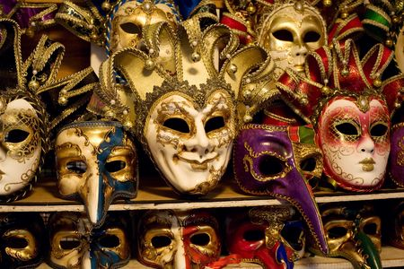 An image of various beautiful venetian masks Stock Photo - 5719127