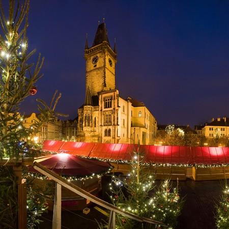 An image of beautiful evening Prague photo