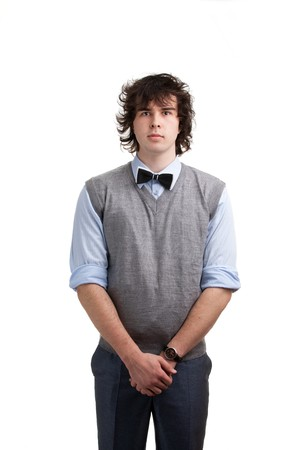fellow: An image of a handsome young fellow Stock Photo