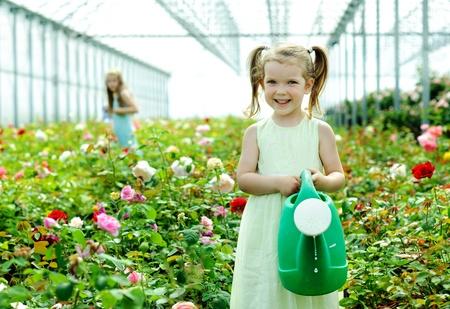 Una imagen de una niña en un Rosario
