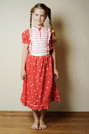 An image of a nicel little girl in a dress Stock Photo - 10053614