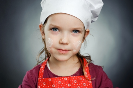 An image of a lovely little chef Stock Photo - 14244617