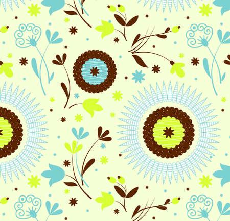 Patr�n transparente petro floral, una ilustraci�n Vectores
