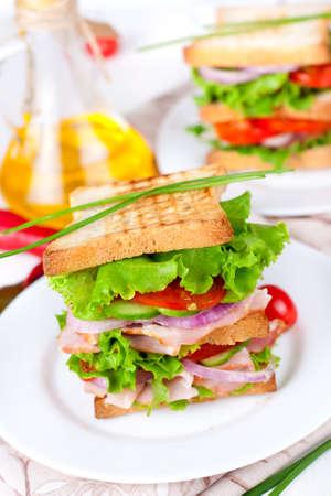 Gran s�ndwich para el desayuno