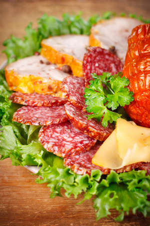 Deli meats closeup Stock Photo - 18439107
