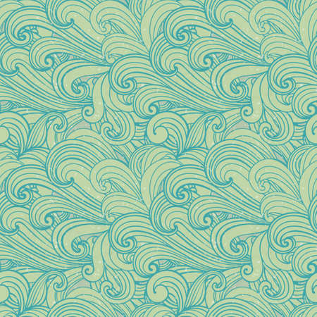storm clouds: Seamless pattern can be used for textiles, wallpaper Illustration
