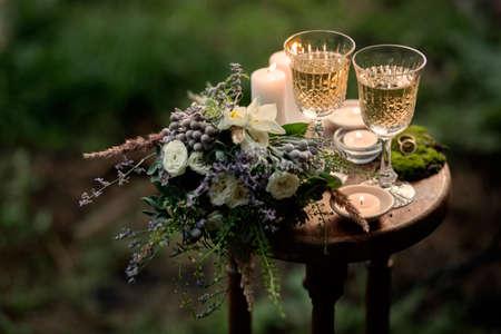Hochzeitsdeko Standard-Bild - 31667883