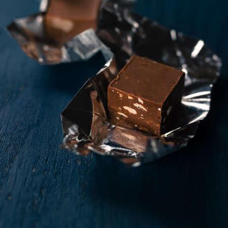 bonbon chocolat: bonbons de chocolat  Banque d'images
