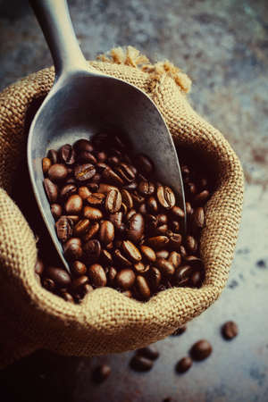 jamoke: Coffee Beans in a Canvas Bag