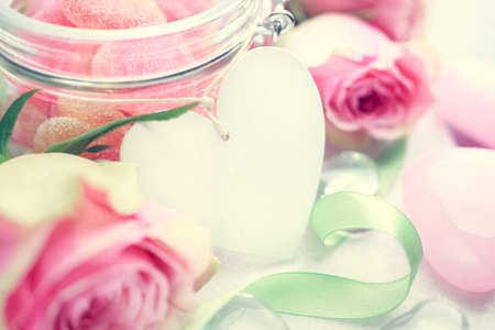 copyspace: Valentines Day background with copyspace. Shallow DOF