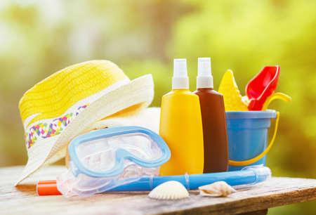 Sun protection cream for children