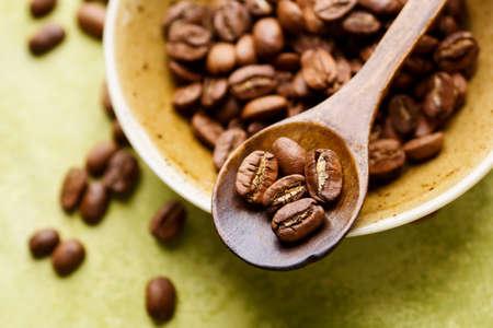 Fresh coffee beans Фото со стока