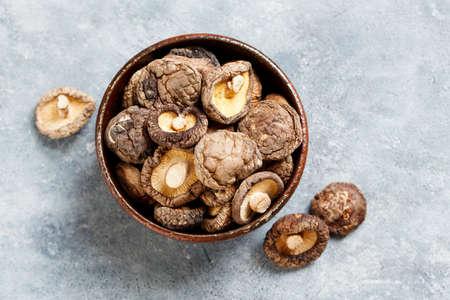 Gedroogde shiitake-champignons