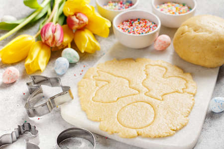 Raw Easter cookies