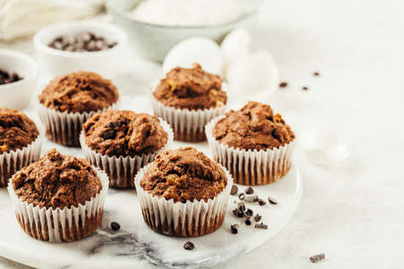 Chocolate Muffin with Chocolate Chips