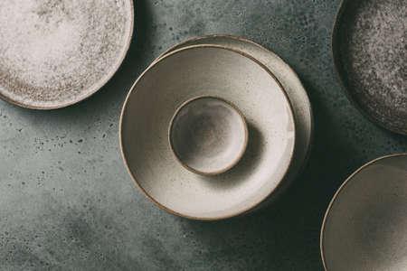 Tableware set of ceramic Reklamní fotografie