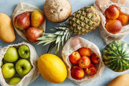 Various organic fruits Reklamní fotografie