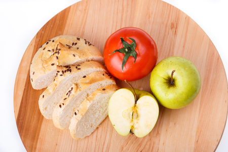 Breakfast for a healthy person, fitness, healthy lifestyle Stock Photo