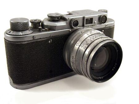 photocamera: old soviet photocamera