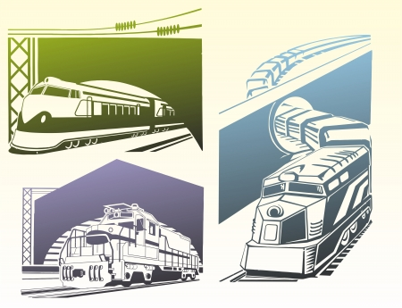outlet engravings depicting passenger rail cargo building