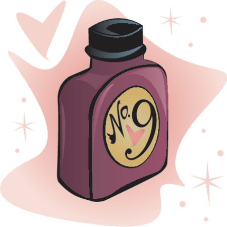 quot: A magical bottle of andamp,quot,Love Potion Number 9andamp,quot, - perfect for Valentines or Anniversary designs