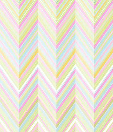 Fun and colorful background of diagonal lines in pastel shades of lime, pink, blue, yellow and orange