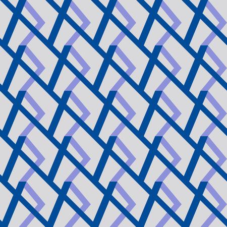 Blue tape, paper linear graphic texture. Ilustração