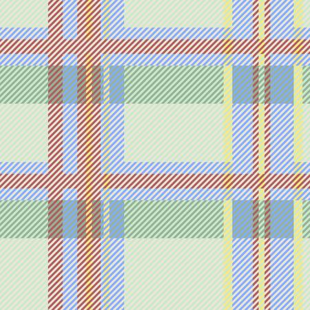 Stoffen geruite Schotse wollen stof, het vector grafische ontwerp van het textuurpatroon.