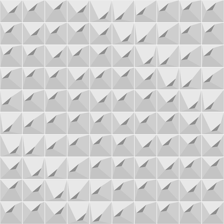 Seamless gray geometric pattern 向量圖像