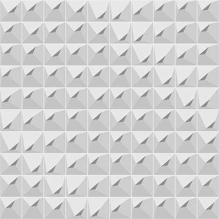 Seamless gray geometric pattern Illustration