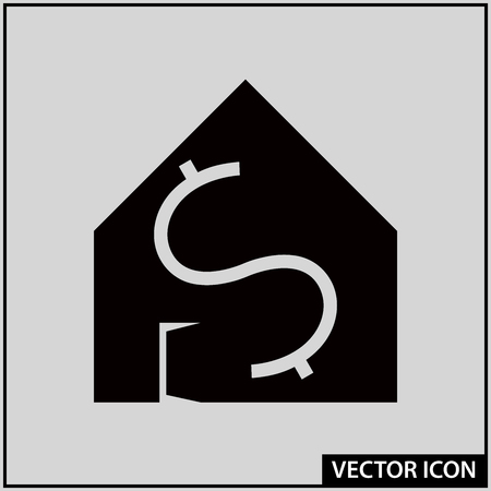 vector icon real estate object ready for sale